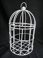 Клетка круглая металлическая для сада, в-44 см, 390\370