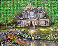 """А3 """"Дом мечты"""" схема для вышивки бисером"""