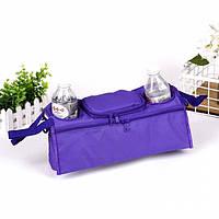 Сумка-органайзер для колясок место для бутылочек, телефона и полезных мелочей
