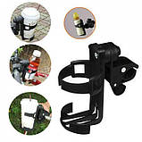 Подстаканник для детской коляски поворотный, фото 3
