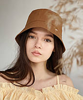Летняя панама светло коричневая, фото 2
