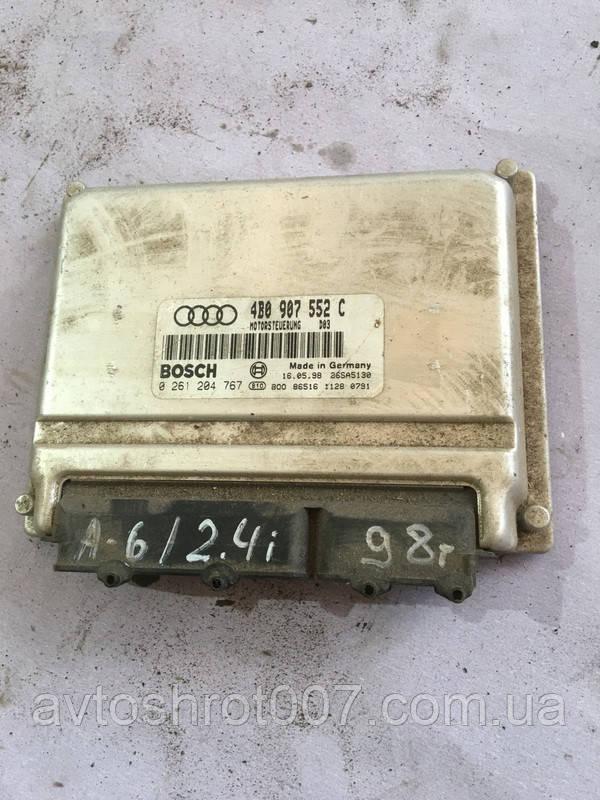 Блок управления двигателем (эбу) Audi A6 c5 4b0907552
