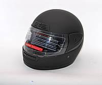 Шлем черный матовый