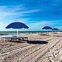 Пляжный зонт с регулируемой высотой и наклоном Springos 180 см BU0007, фото 3