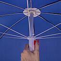 Пляжный зонт с регулируемой высотой и наклоном Springos 180 см BU0007, фото 10