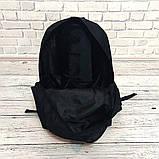ХИТ! Молодежный вместительный рюкзак FILA, фила. Черный / F 01 Vsem, фото 8