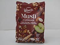 Мюсли с шоколадом и яблоком Vitanella z Chekolada 350 г