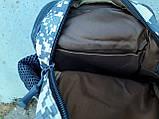 Тактическая сумка-рюкзак, барсетка, бананка на одной лямке, пиксель. T-Bag 448 Vsem, фото 9