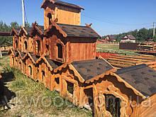 Будка дерев'яна для собак  маленька Будка деревянная для собак маленькая