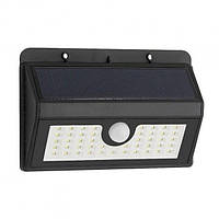 🔝 Уличный светильник на солнечной батарее с датчиком движения свет Solar Sensor Wall Light (45 LED) | 🎁%🚚
