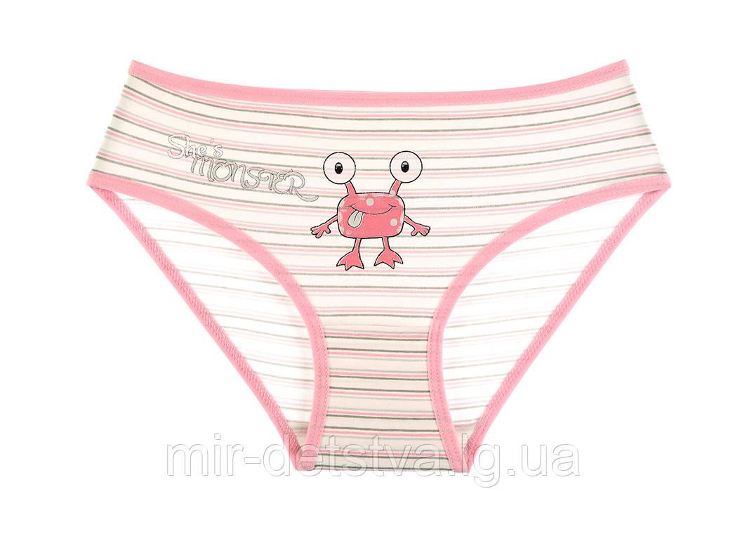 Детские трусики для девочек ТМ Donella оптом р.4/5 лет (110-116 см) ост. 2 шт розовый