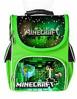 Ранец школьный каркасный рюкзак детский ортопедический Майнкрафт Minecraft