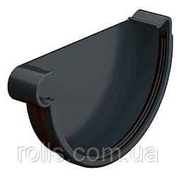 Заглушка левая Galeco PVC 90/50 заглушка ліва ринви водостічної RE090-_-ZL----G
