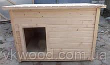 Будка дерев'яна для собак  середня Будка деревянная для собак средняя