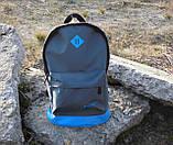 Стильный рюкзак NIKE (Найк). Серый с голубым. Vsem, фото 2