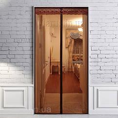 Москитная штора на дверь на магнитах