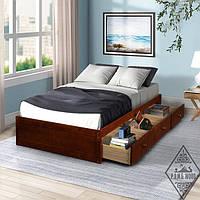 """Кровать с выдвижными ящиками """"Дева"""""""