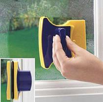 Магнитная щетка для мытья окон Glass Wiper UTM с двух сторон, фото 3
