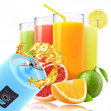 Фитнес-блендер Juice Cup Fruits (Голубой), фото 3