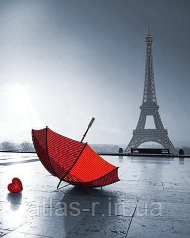 """А3 """"Паризький шарм"""" схема для вишивки бісером"""