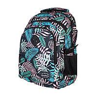 """SE-0013 Ортопедический рюкзак для девочки """"Tropical"""" 45*33*17 см. 45*33*17 см 3 отделения"""