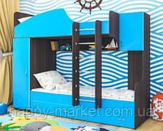 Кровать  двухъярусная ВОЛНА   КДВ 0306-20