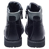 Ботинки Theo Leo RN265 24 15.8 см Черно-серые, фото 4