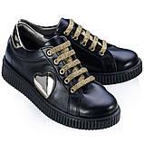 Туфли Theo Leo RN536 32 19.5 см Черные, фото 2