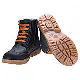 Ботинки Theo Leo RN575 31 20.1 см Черно-зеленые, фото 3