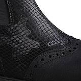 Ботинки Theo Leo RN613 25 16.5 см Черные, фото 4