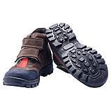 Ботинки Theo Leo RN605 21  см Синие,красно-коричневые, фото 4