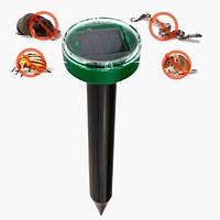 Отпугиватель кротов Garden Pro наСолнечной батарее от грызунов и насекомых відлякувач від для кротів антикрот