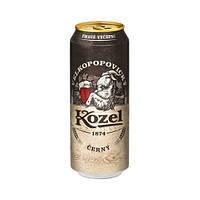 Пиво Velkopopovicky Kozel Cerny темное 10% ж/б 6 х 0,5 л.