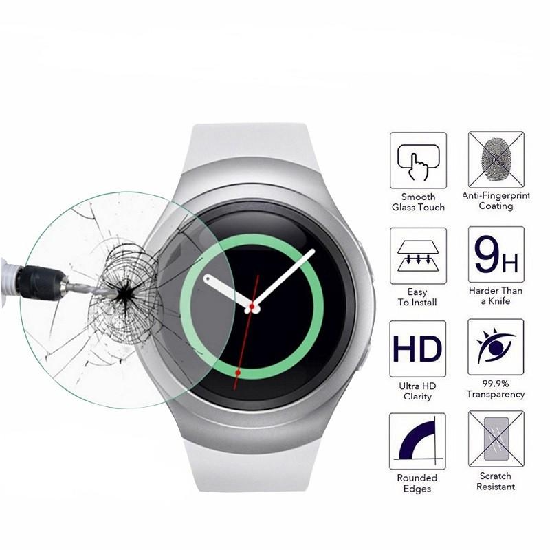 Закаленное защитное стекло для часов Samsung Galaxy Gear S2 Watch