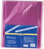 Файл для документов PROFESSIONAL, А4, 40 мкм,  по 100 шт. в упаковке, фото 3