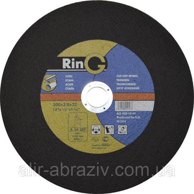 Отрезной круг по металлу RinG 350 х 3 х 25.4