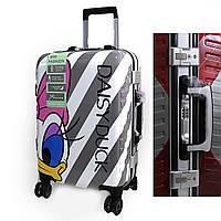 """9434 Подростковый детский чемодан для девочки Дейзи Дак Daisy Duck на 4 колесах """"DS""""L 20"""""""