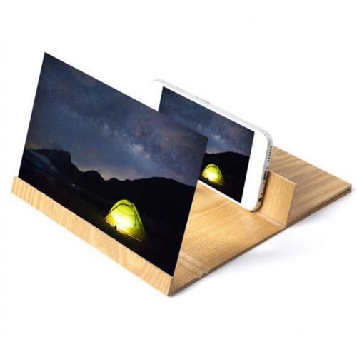 Увеличитель экрана телефона 3D Enlarged Screen Magnifier ProX-Trend Дерево