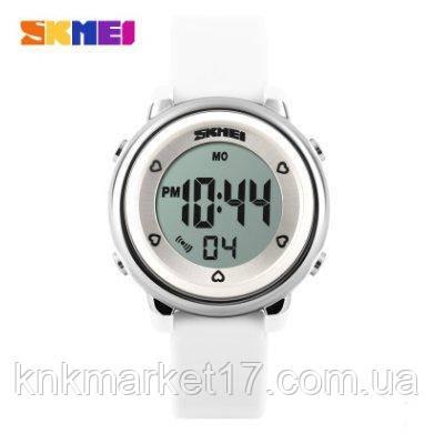 Skmei 1100 White-Silver