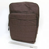"""0866 Рюкзак подростковый молодежный """"Brown"""", отделение для ноутбука 30*41*16см"""
