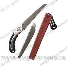 Ножовка садовая 240мм + лезвие 240мм 7Tx1/3D c чехлом