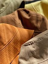 Летняя панама светло коричневая, фото 3