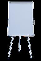 Флипчарт магнитный сухостираемый на треноге BUROMAX  70х100см Доска магнитная, для маркера, маркерная доска