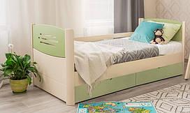 Дерев'яне дитяче ліжко Марго Преміум Олімп
