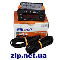 Контроллер  Elitech ETC  974 термостат (элитеч) 2 датчика