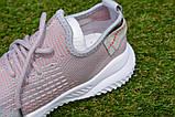 Детские кроссовки носки Adidas Yeezy Boost адидас розовый р32-36, копия, фото 4