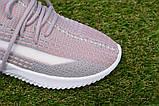 Детские кроссовки носки Adidas Yeezy Boost адидас розовый р32-36, копия, фото 8
