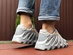 Чоловічі кросівки Adidas Yeezy 451 (сірі) 9454, фото 2