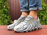Чоловічі кросівки Adidas Yeezy 451 (сірі) 9454, фото 3