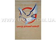 Напольное покрытие с нескользящим ПВХ основанием с логотипом 85х150см.